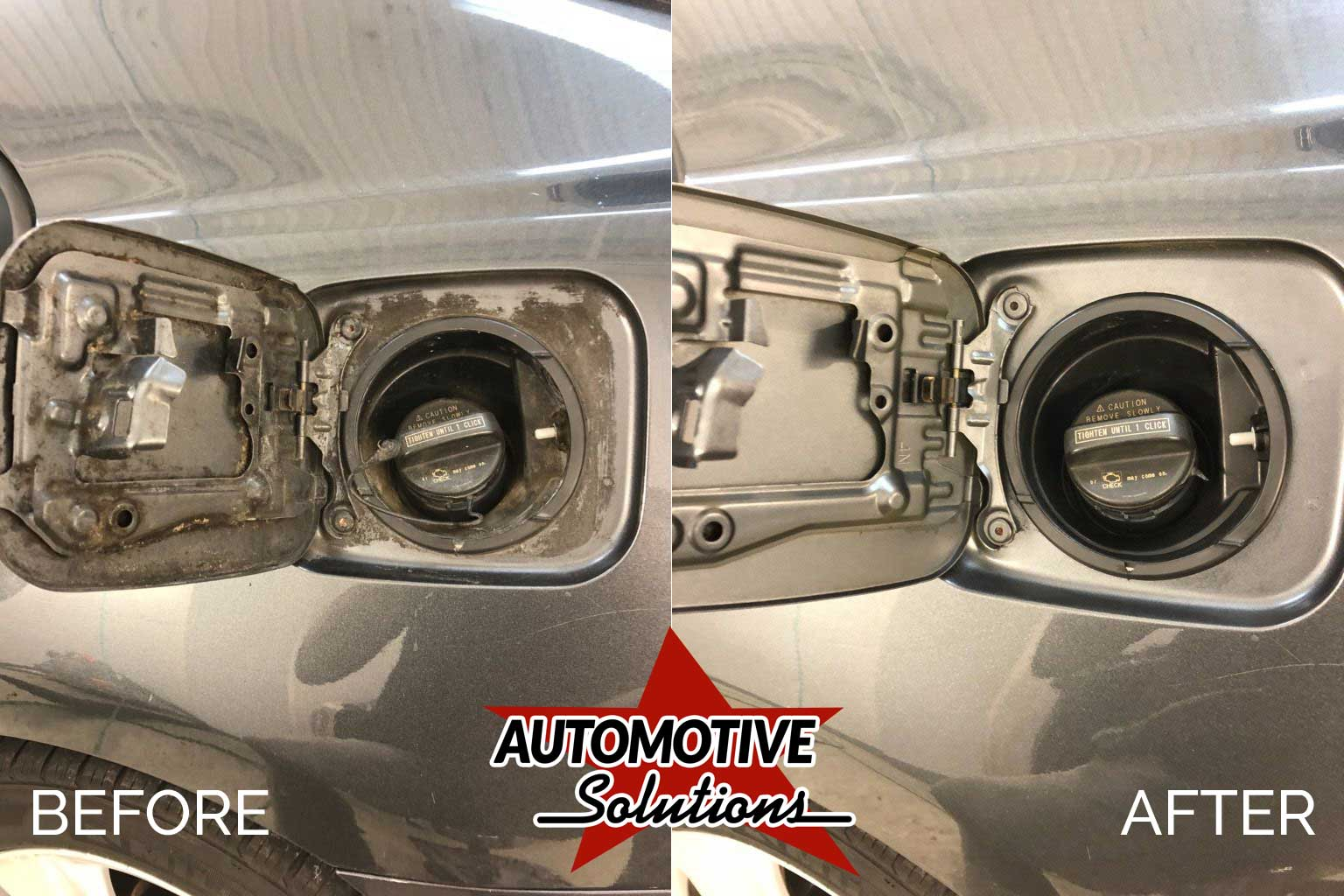 Complete auto cleaning and degreasing.